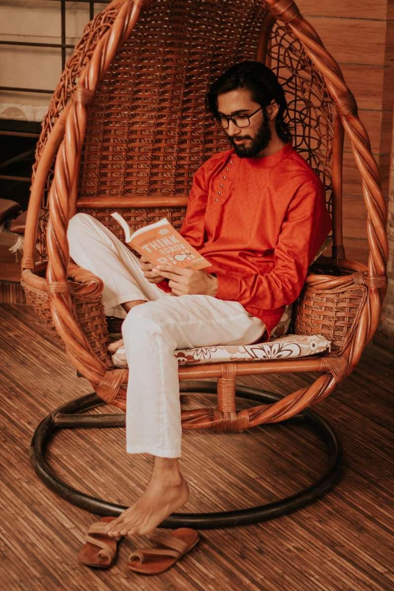 fauteuil en bois indien